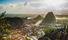 Top 8 things to do in Da Nang Beach City, Vietnam Da Nang, Travel Around The World, Around The Worlds, Destinations, Hoi An, Vietnam Travel, Mountain View, Best Hotels, Hue