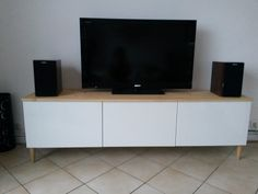 Meuble+TV+avec+BESTA+Ikea