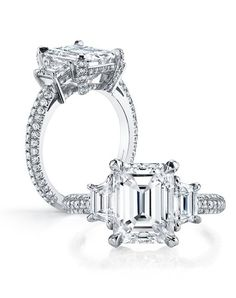 A gem solitaire could be the essential gemstone diamond engagement ring. Although other gemstone diamond engagement ring settings fall and increase in recognition, a solitaire ring can be a classic… Emerald Cut Diamond Engagement Ring, Three Stone Engagement Rings, Emerald Cut Diamonds, Princess Cut Diamonds, Diamond Rings, Diamond Cuts, Pink Diamonds, Engagement Jewelry, Solitaire Engagement