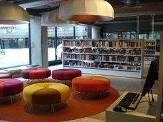 Kulturhuset Library Stockholm - BCI Design