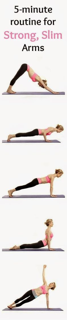 Sequence: downward dog, plank, side plank each side, chatarunga, upward dog