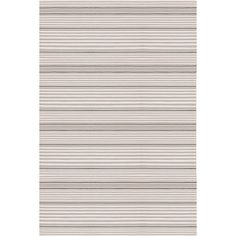 Dash and Albert Rugs Handwoven Platinum Indoor/Outdoor Area Rug Rug Size: Runner x Dhurrie Rugs, Dash And Albert, Striped Rug, Indoor Outdoor Area Rugs, Outdoor Sofas, Outdoor Play, Outdoor Living, Outdoor Decor, Contemporary Area Rugs