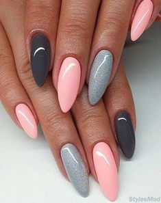 Easy & Coolest Nail Art Designs For Long Nails To Try. Explore Here to see our favorite Nail Art Styles for inspired to other girls and women. Now it's time to make your manicure beautiful and modern. In the Below pic you can see the very feminine and Inspiring nail art Design for the teenage girls. Try it and make your day awesome.