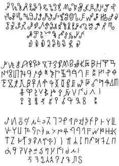 From Afrikan Alphabets - The story of writing in Afrika by Safi Mafundikwa. The shü-mom syllabary