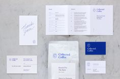 Collected Coffee by Fivethousand Fingers, Canada. #coffee #branding