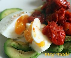 Poached eggs from detox/cleanse week
