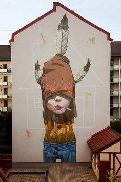♥ Street art in Norway