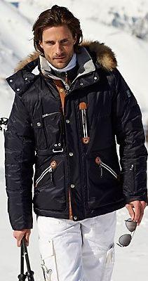 Most Fashionable Mens Ski Coats