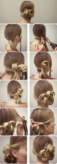 Romantic Formal Updo for Special Occasions