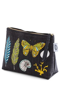 New Arrivals - Decor on Display Makeup Bag - love the colors and print