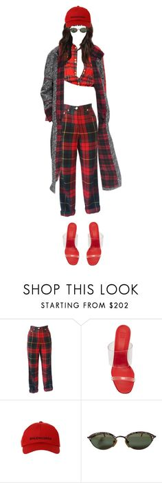 """""""Untitled #164"""" by bahrainimermaid on Polyvore featuring Moschino, Maryam Nassir Zadeh, Balenciaga and Jean-Paul Gaultier"""