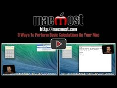 9 Ways To Perform Basic Calculations On Your Mac You probably know how to use the Calculator on your Mac. But did you know that there are at...