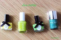 Beauty By Cyann ‹ Se connecter Essie, Blog, Nail Polish, Lipstick, Nails, Green, Beauty, Finger Nails, Lipsticks