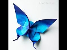 Origami Butterfly :: Mariposa UPDATED VERSION ::Actualizada - YouTube