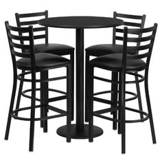 Flash Furniture Round Black Laminate Table Set with 4 Lad... https://www.amazon.com/dp/B00SYUPUHQ/ref=cm_sw_r_pi_dp_x_cVBszbRPMPQ0W