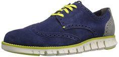 Amazon.com: Cole Haan Men's Zerogrand Deconstructed Wingtip Oxford: Shoes