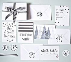 Are you interested in our Inspirational Quote Advent Calendar? With our Stationery Advent Calendar for Adults you need look no further. Christmas On A Budget, Christmas Gift Guide, Christmas Gifts, Christmas Things, Christmas 2016, Christmas Ideas, Advent Calander, Chocolate Advent Calendar, Copper And Grey