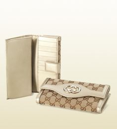 interlocking G continental wallet Continental Wallet, Luxury Fashion, Purses, Accessories, Shopping, Corner, Style, Handbags