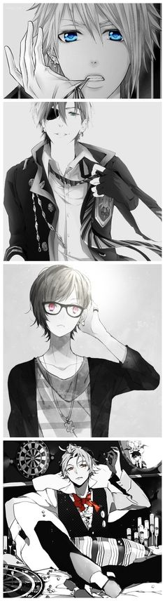 Cute anime guys #manga #anime