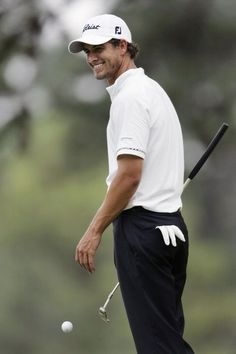 Aussie golfer Adam Scott. Think I've just decided I like golf after all ⚡️⚡️