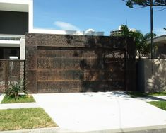 You-Design-It Custom Garage Doors from our Ultimate Series. Custom laser-cut panelling with matching facades. Custom Garage Doors, Modern Garage Doors, Garage Door Design, Custom Garages, Garage Signs, Your Design, Custom Design, Sectional Garage Doors