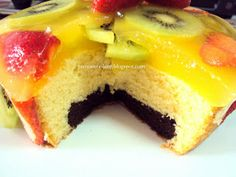 Jelly Fruit Cake ~ Prema's Culinary | How to Cook ~ Cooking Recipes ~ Eggless Baking