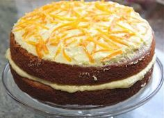 A spiced orange cake using a whole orange!! By Mary Berry. It was so moist and delicious.