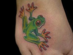 Frog tattoos are not a main stream tattoo, but there is a popularity for the tattoo. Description from pinterest.com. I searched for this on bing.com/images