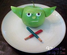 Star Wars snacks for The Kid!