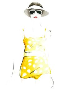 Christian David Moore, Fashion Illustrator, Advertising, Publishing, Editorial