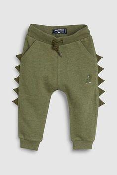Boys Next Khaki Spike Joggers - Green Fashion Niños, Kids Fashion Boy, Stylish Boy Clothes, Stylish Boys, Baby Boy Outfits, Kids Outfits, Khaki Pants Outfit, Boys Joggers, Shower Bebe