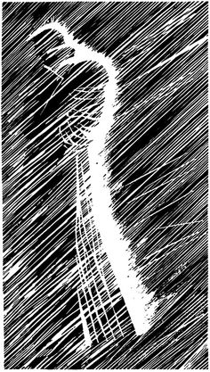 Marv in Sin City by Frank Miller.