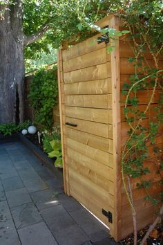 """""""garden gates that close w/ magnets"""" Nearly pinned this on my Doors & Gates board but decided here was better. S"""