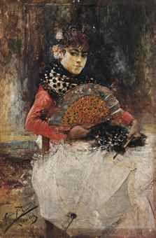José García Ramos - El sombrilla blanca