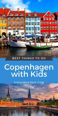If you are planning a trip to Scandinavia with kids, be sure to make time for Copenhagen. Denmark's capital city offers endless fun, friendly locals, and delicious food. The only thing kids won't like is when it is time to leave. Here's what not to miss in Copenhagen with kids. - Kids Are A Trip #copenhagen #copenhagentravel #copenhagenwithkids #copenhagendenmarkwithkids #copenhagenforkids Top Travel Destinations, Europe Travel Guide, Amazing Destinations, Travel Guides, Cruise Europe, Cruise Vacation, Travel With Kids, Family Travel, Copenhagen Travel