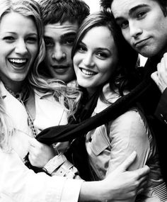 Leighton Meester, Blake Lively, Chace Crawford, Ed Westwick - Gossip Girl