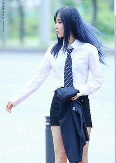 Mamamoo's Moonbyul #Fashion #Kpop #Idol