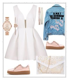 """""""Untitled #1218"""" by aagyekumwaa ❤ liked on Polyvore featuring High Heels Suicide, Michael Kors and Fallon"""