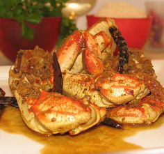Spicy Crab with Lemongrass Ginger And Chili
