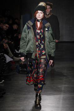 Sacai - Fall 2017 Menswear