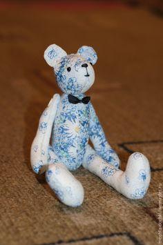 Animal toys, handmade.  Dreamy Mishutka.  Alena Smirnova.  Shop Online Fair Masters.  Bear, cotton