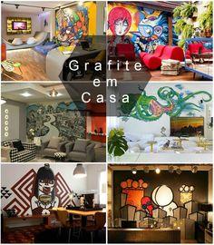Grafite Dentro de Casa