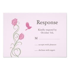 Find customizable Lotus invitations & announcements of all sizes. Pick your favorite invitation design from our amazing selection. Response Cards, No Response, Succulent Wedding Invitations, Pink Cards, Amazing Flowers, Lotus Flower, Rsvp, Succulents, Succulent Plants