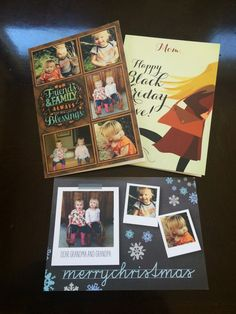 @ascook1 personalized cards for everyone on her list this holiday.