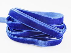3 Meters of 10mm Royal Blue Velvet Ribbon  3.28 by LylaSupplies, $2.70