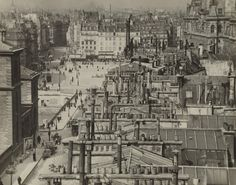 'Roofs of Paris', 1913 by Alvin Coburn