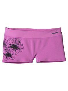 W& Active Mesh Boy Shorts, Waterflower Graphic: Mock Purple & Outdoor Outfit, Boy Shorts, Patagonia, Fit Women, Sportswear, Active Wear, Boys, Mesh, Swimwear