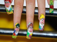 nehty4 Nails, Fashion, Finger Nails, Moda, Ongles, Fashion Styles, Fashion Illustrations, Nail, Nail Manicure