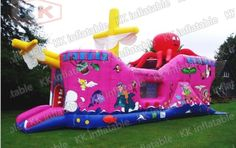 1750.00$  Watch more here - http://aik1i.worlditems.win/all/product.php?id=1659083688 - inflatable beautiful jumping bouncer boat slide commercial rent