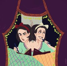 Bette and Dot Tattler by B-Brigid